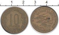Изображение Монеты Камерун 10 франков 1953 Латунь XF