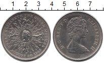 Изображение Монеты Великобритания 25 пенсов 1980 Медно-никель UNC-