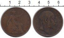 Изображение Монеты Великобритания 1 пенни 1910 Бронза VF
