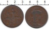 Изображение Монеты Франция 10 сантим 1917 Бронза XF-