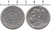 Изображение Монеты Польша 5 злотых 1935 Серебро VF