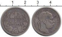 Изображение Монеты Венгрия 1 крона 1894 Серебро VF
