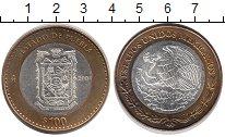 Монета Мексика 100 песо Биметалл 2004 UNC- фото