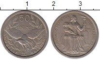 Изображение Монеты Новая Каледония 50 сантим 1949 Медно-никель UNC-