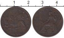 Изображение Монеты Ионические острова 2 лепты 1819 Медь VF+ Британская администр