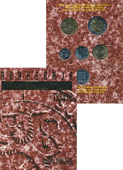 Изображение Подарочные наборы Финляндия Выпуск 1999 1999  UNC Представляем Вашему