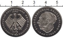Изображение Монеты ФРГ 2 марки 1987 Медно-никель Proof