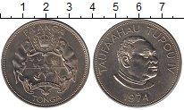 Изображение Монеты Тонга 1 паанга 1974 Медно-никель UNC-