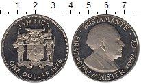 Изображение Монеты Ямайка 1 доллар 1976 Медно-никель UNC Бустаманте.