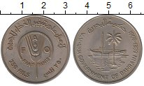 Изображение Монеты Бахрейн 250 филс 1989 Медно-никель XF+