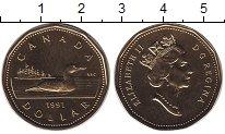 Изображение Монеты Канада 1 доллар 1997 Латунь UNC