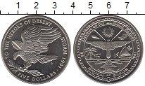 Изображение Монеты Маршалловы острова 5 долларов 1991 Медно-никель UNC Орел