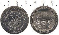Изображение Монеты Либерия 5 долларов 2000 Медно-никель UNC Декларация  независи