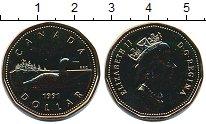 Изображение Монеты Канада 1 доллар 1991 Латунь XF