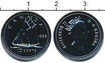 Изображение Монеты Канада 10 центов 1993 Медно-никель UNC