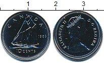 Изображение Монеты Канада 10 центов 1985 Медно-никель UNC