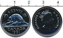 Изображение Монеты Канада 5 центов 1991 Медно-никель UNC