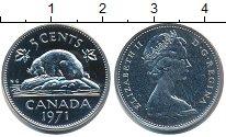 Изображение Монеты Канада 5 центов 1971 Медно-никель UNC
