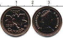 Изображение Монеты Канада 1 цент 1987 Медь UNC