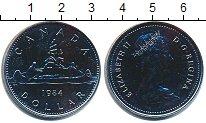 Изображение Монеты Канада 1 доллар 1984 Медно-никель UNC