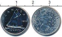 Изображение Монеты Канада 10 центов 1973 Медно-никель UNC