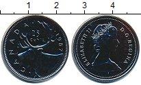 Изображение Монеты Канада 25 центов 1987 Медно-никель UNC