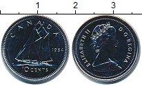 Изображение Монеты Канада 10 центов 1984 Медно-никель UNC