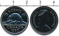 Изображение Монеты Канада 5 центов 1989 Медно-никель UNC
