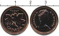 Изображение Монеты Канада 1 цент 1984 Медь UNC