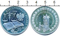 Изображение Монеты Польша 10 злотых 2006 Серебро XF