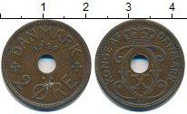 Изображение Монеты Дания 2 эре 1928 Медь XF