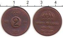 Изображение Монеты Швеция 2 эре 1954 Бронза XF