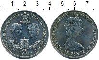 Изображение Монеты Гернси 25 пенсов 1981 Медно-никель UNC