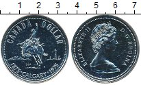 Изображение Монеты Канада 1 доллар 1975 Серебро UNC