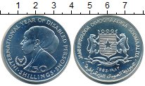 Изображение Монеты Сомали 150 шиллингов 1983 Серебро UNC Год инвалидов