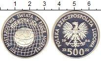 Изображение Монеты Польша 500 злотых 1986 Серебро UNC