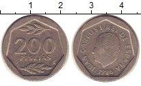 Изображение Монеты Испания 200 песет 1998 Медно-никель VF
