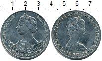 Изображение Монеты Гернси 25 пенсов 1980 Медно-никель UNC