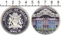 Изображение Монеты Малави 20 квач 2010 Серебро Proof