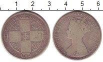 Изображение Монеты Великобритания 1 флорин 1873 Серебро VF Виктория.