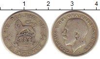 Изображение Монеты Великобритания 6 пенсов 1921 Серебро VF Георг V.