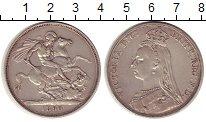 Изображение Монеты Великобритания 1 крона 1890 Серебро XF
