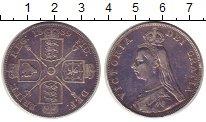 Изображение Монеты Великобритания 2 флорина 1889 Серебро XF