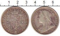 Изображение Монеты Великобритания 1/2 кроны 1897 Серебро VF