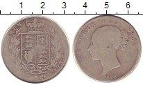Изображение Монеты Великобритания 1/2 кроны 1878 Серебро F
