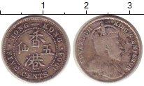 Изображение Монеты Гонконг 5 центов 1904 Серебро VF