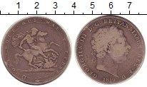 Изображение Монеты Великобритания 1 крона 1819 Серебро VF