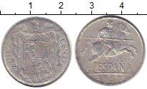 Изображение Монеты Испания 10 сентимо 1953 Алюминий
