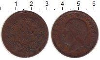 Изображение Монеты Португалия 20 рейс 1885 Бронза VF