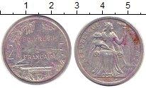 Изображение Монеты Полинезия 2 франка 1986 Алюминий XF